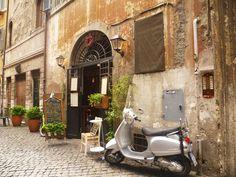 Roman street.