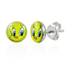 """316L Surgical Steel """"Tweety Bird"""" Earrings 1 4""""   eBay"""