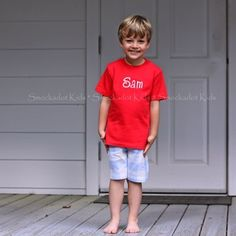 Smockadot Kids Flash Sales (not a sewing pattern, just inspiration) - this is a great combo for a beach outfit