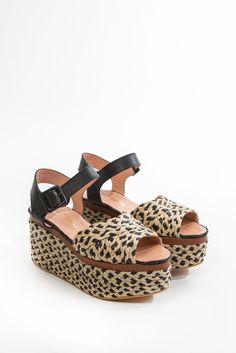April Raffia Platform #raffia #platform #robertclergerie #shoes
