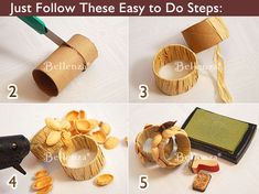 How to... Napkin rings
