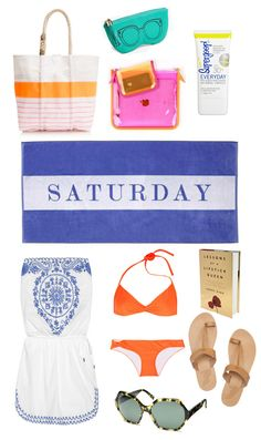 My beach day essentials..