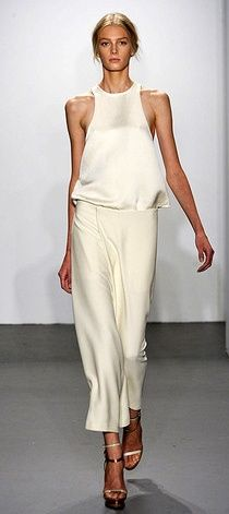 #Style#Outfit# Helmut Lang- silk halter