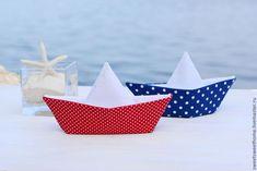 Детская ручной работы. Ярмарка Мастеров - ручная работа. Купить Морской набор. Handmade. Морской стиль, кораблики, морской, хлопок