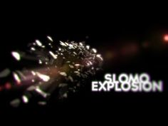 Explosion Tutorial with dust! - Cinema 4d (Slow-motion) - YouTube