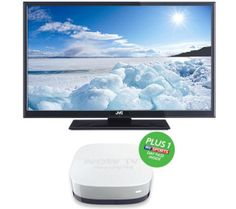 """LT-32DD52J 32"""" LED Television with Built-in DVD Player & NOW TV HD Smart TV Box - Sports Bundle"""