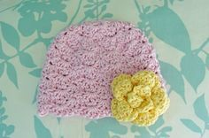Alli Crafts: Free Pattern: Lacy Shells Hat - Newborn (and other patterns)