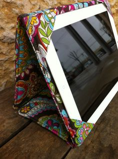 iPad,  iPad 2, or iPad 3 Stand Cover Case. $45.00, via Etsy. ~use for idea