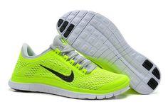 Nike Free 3.0 V5 Womens Fluorescence Green