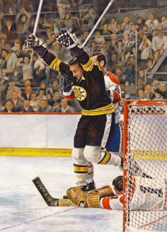 Phil Esposito, Boston Bruins by Chuck Gillies Phil Esposito, Boston Bruins Hockey, Boston Sports, Hockey Games, Vancouver Canucks, Sport 2, Nfl Fans, National Hockey League, World Of Sports
