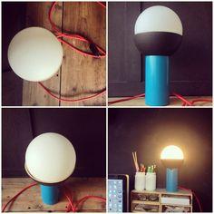 Rekobo lampe à poser en bambou / work in progress