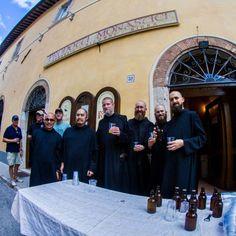 Terzo anniversario BIRRA NURSIA a Norcia con i monaci Benedettini