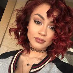 Fierce red @mickeygonzalez_ - http://community.blackhairinformation.com/hairstyle-gallery/natural-hairstyles/fierce-red-mickeygonzalez_/