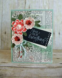by Tami: All About Everything Paper Pumpkin set, Typeset dsp, extra accents from Lovely Little Wreath Paper Pumpkin Kit - all from Stampin' Up!