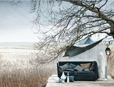 Here are some great things from around the web that caught my eye. Dreamy, beautiful photos by Ditte Isager . Via Eighthourday . Outdoor Rooms, Outdoor Living, Outdoor Decor, Indoor Outdoor, Fresco, Rue Verte, Dream Garden, Photos, Pictures