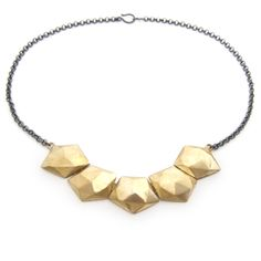 Tessellation Collar from @MakersMarket - Gorgeous #handmade #jewelry #necklace