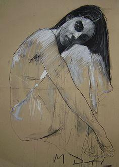 Mark Demsteader - Contemporary Artist - Figurative Painting - Faith IV