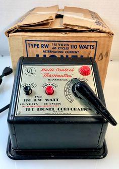VTG LIONEL TYPE RW MULTI CONTROL 110 WATT TRANSFORMER TESTED WORKs Original Box   | eBay