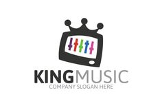King Music Logo by Josuf Media on Creative Market