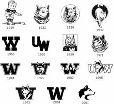 I like the idea of doing a husky head somewhere. Probably not on the announcement itself (I want that to be pretty formal), but maybe on an envelope if possible? none of the ones later than 1972 though