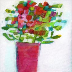 Original acrylic painting on canvas panel by Imogen Skelley