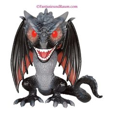 Game of Thrones Drogon Oversized.  #46 Released 2016 Excl. to Hot Topic  Mit Undergroundtoys Sticker  Spare mit unserer Punktekarte 1€