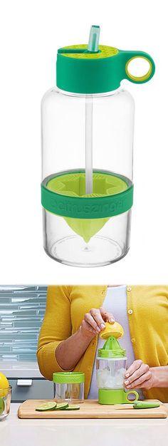 Green Citrus Zinger 36-Oz. Biggie Water Bottle