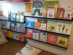 la libreria frontale dei miei bimbi