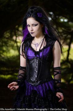 184bb8adc7b77 Le Blog Gothic Shop  Ella Amethyst - Manish