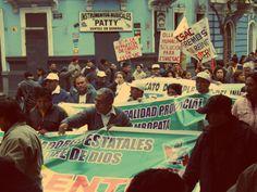 La marcha pasó por varios escenarios del Centro de Lima [Foto: Candy Castro / Spacio Libre]