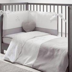 eed2f190a Colchas Para Cunas, Cunas Para Bebes, Chichonera Para Cuna, Dormitorios  Niños, Gris