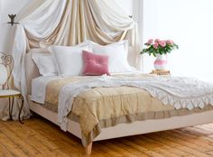 The Scallop Super King bed in Shell £845  http://www.sofa.com/shop/beds/upholstered-beds/scallop#240-BLCSHE-0-0