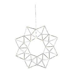 #Weihnachtsdekoration #Star Trading #690-52   Star Trading 690-52 Dekorative Beleuchtung  Chrom, IP20,Star Trading Dekokranz mit 30 LED chromfarben    Hier klicken, um weiterzulesen.