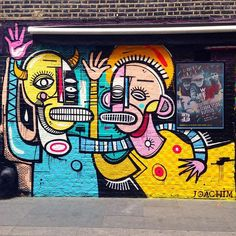 Work by @joachimofficial in  #London #Streetart