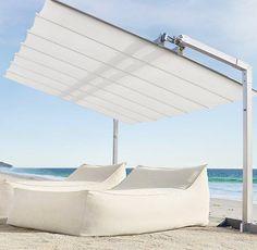 Ibiza Chaise Lounge    by Restoration Hardware...