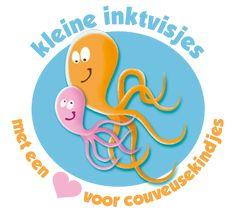 Inktvisjes haken en breien voor couveusekindjes in Nederland en België.