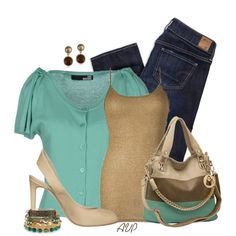 Turquoise and Browns