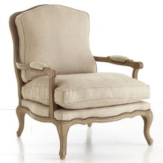 Wisteria calls this a Salon Armchair. I know it as a Bergere Chair. This is the most comfortable chair ever - it's so roomy and you just sink into the plush cushions. I have always wanted one of these. If anyone locates a used one, call me immediately!