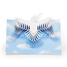 Peaceful Dove Holiday Cards - Set of 8 in color Peace Dove, 3d Cards, Pop Up, Museum Of Modern Art, Close Image, Contemporary Artists, Holiday Cards, Greeting Cards, Envelopes