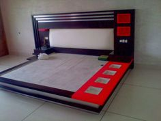 Red Bedroom Design, Wardrobe Interior Design, Bedroom Cupboard Designs, Door Design Interior, Bedroom Furniture Design, Bed Design Images, Bedroom Designs Images, Beautiful Bedroom Designs, Design Ideas