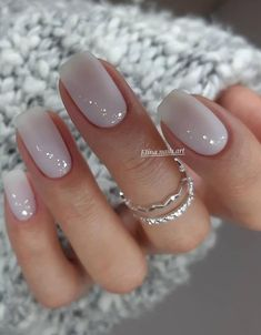 33 Trendy Natural Short Square Nails Design for Spring Nails 2020 - - Beautiful . - 33 Trendy Natural Short Square Nails Design for Spring Nails 2020 – – Beautiful short natural s - Cute Nails, Pretty Nails, Pretty Short Nails, Hair And Nails, My Nails, Glitter Nails, Zebra Nails, Nail Selection, Short Square Nails