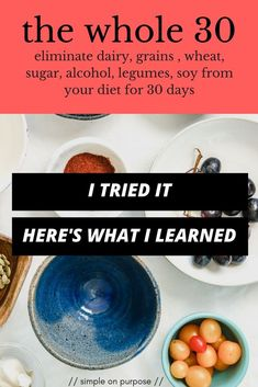 If you are looking for whole 30 before and after, you really have to look at what you learned about your relationship with food. here is what I learned from my whole 30 Whole 30 Challenge, Diet Challenge, Breakfast Quiche, Paleo Breakfast, Gluten Free Diet, Dairy Free, What Is Ketogenic, Still Tasty, Whole 30 Diet