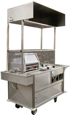 Worksman Cycles & 800 Buy Cart Ultralite Model 5030 hot dog cart is the standard in professional food vending, with multiple options & accessories. Cool Truck Accessories, Mobile Food Cart, Food Cart Design, Best Food Trucks, Hot Dog Cart, Bbq Set, B Food, Coffee Carts, Cheap Coffee