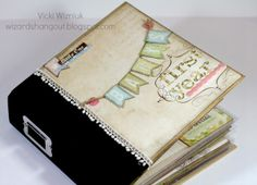 See the inside, it is beautiful http://wizardshangout.blogspot.mx/2012/11/baby-album.html