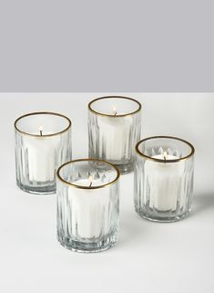 Buy Etched Glass Votive Holders With Gold Rims, Set of 4 Wholesale Online Glass Votive Holders, Glass Candle, Etched Glass, Gold Candles, Votive Candles, Ceramic Lantern, Glass Engraving, Glass Etching, Glass Ball