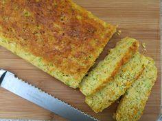 Listas, listas listas   Pão rápido de cenoura ou abobrinha