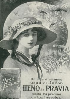Some time between 1899-1901, one of the company's founders was passing by coach through the village of Pravia, in Northern Spain. At the time the local farmers were busy cutting heno - hay, a grass used for livestock. He loved the aroma so much that when he returned to Madrid he reproduced the fragrance.