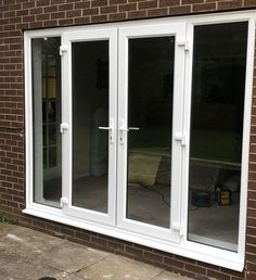 With a uPVC French Door you can transform the appearance of your home! French Doors uPVC made will effortlessly enhance any home. Upvc French Doors, French Doors Patio, Patio Doors, Upvc Porches, Rear Extension, Back Doors, Home Improvement, Windows, Room