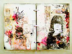 czekoczyna: art journal gorgeous!!!
