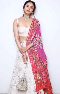 Bollywood Celebrities in Designer Dupattas